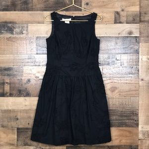 Evan Picone LBD Dropped Waist Fit and Flare Dress